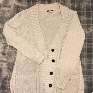 Women's knit button up cardigan